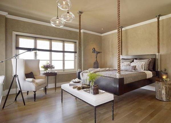İpli ilginç yatak odaları
