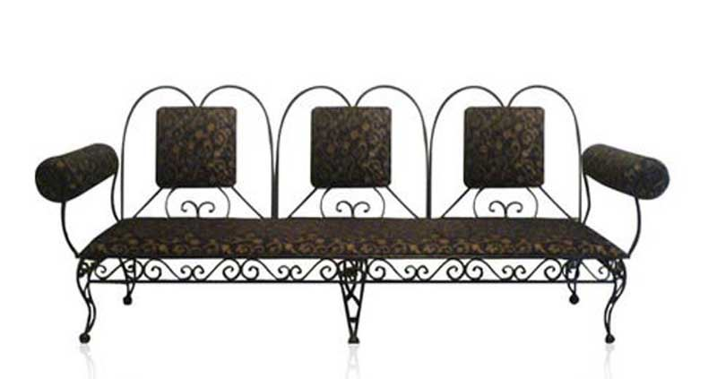 Ferforje kanepe modelleri