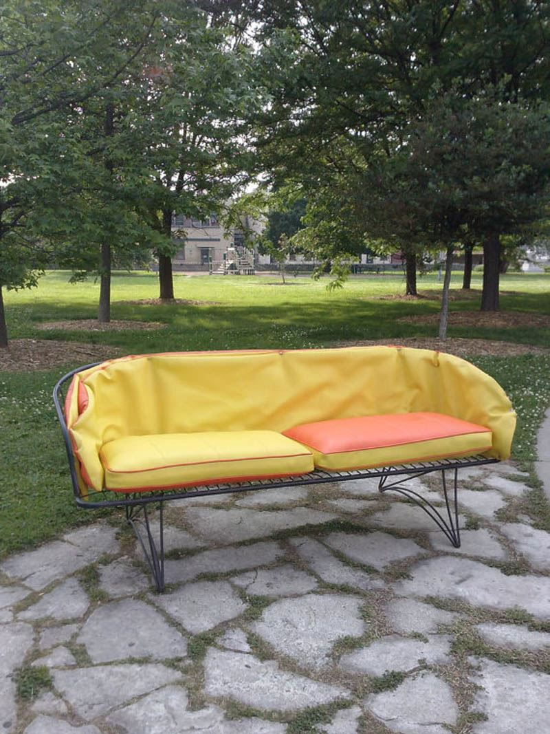 Ferforje retro kanepe
