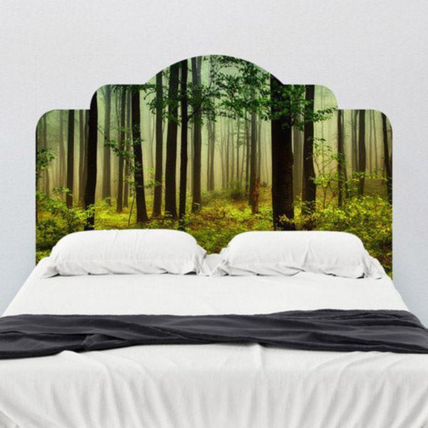 Yatak başlığı duvar kağıdı Orman