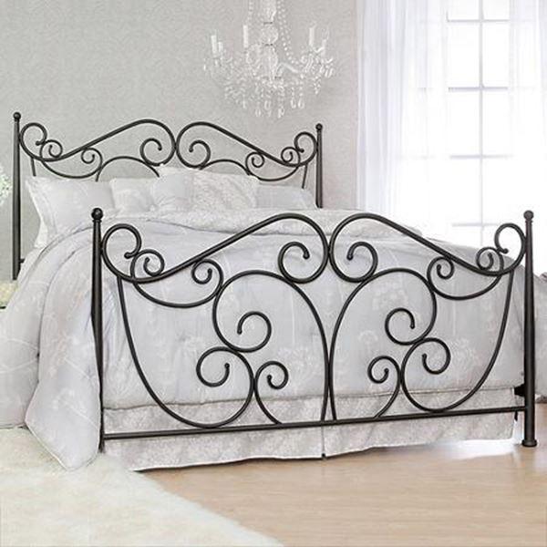 Ferforje modern yatak karyolası