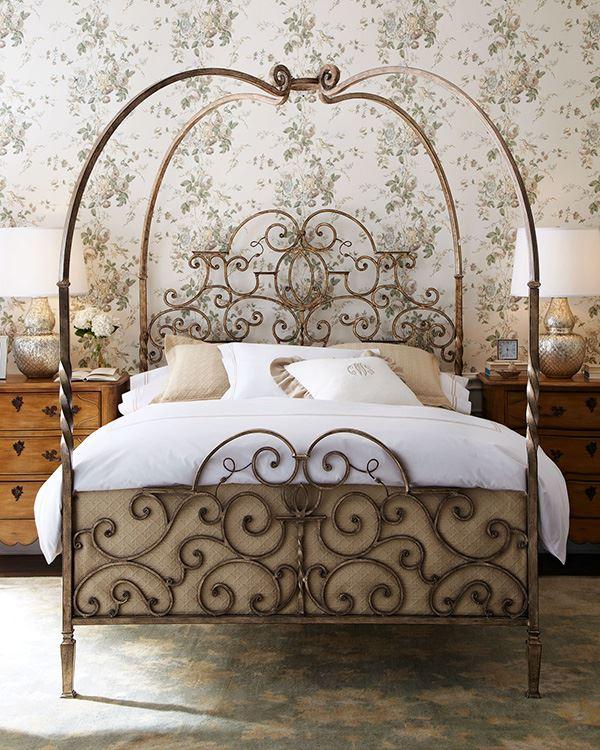 Ferforje yatak karyola