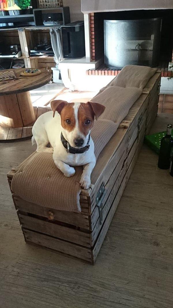 Fruit Crate Seat