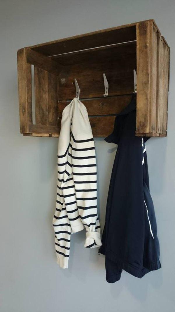 Hanger from fruit case