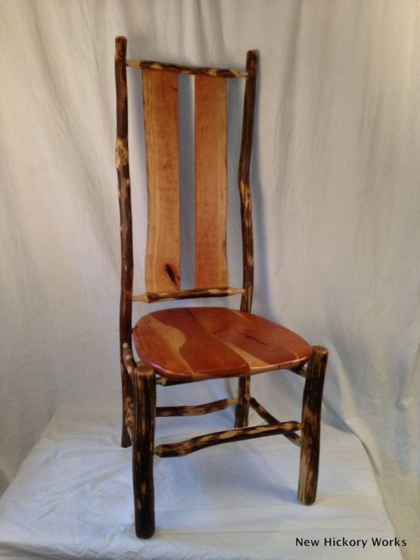 El yapımı kiraz yemek sandalyesi