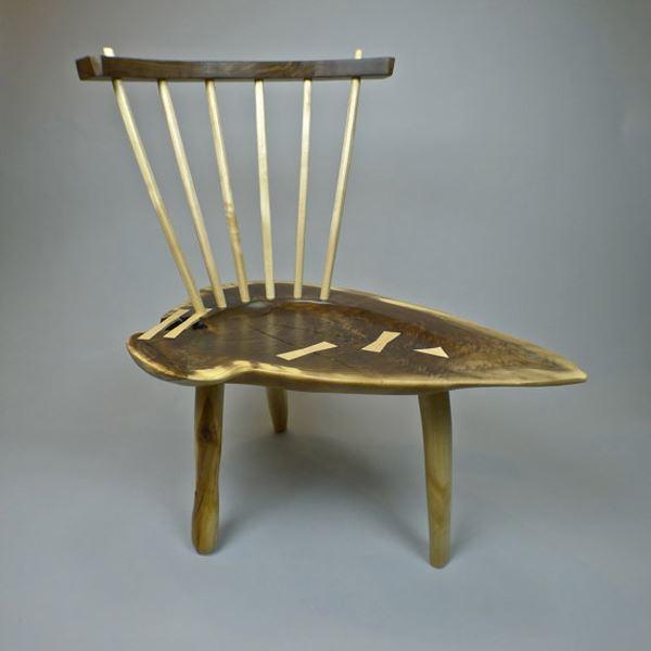 Siyah ceviz ve akçaağaç sandalye