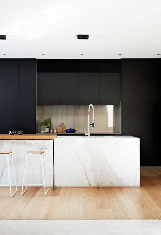 Beyaz Mutfak Adalı Siyah beyaz mutfak