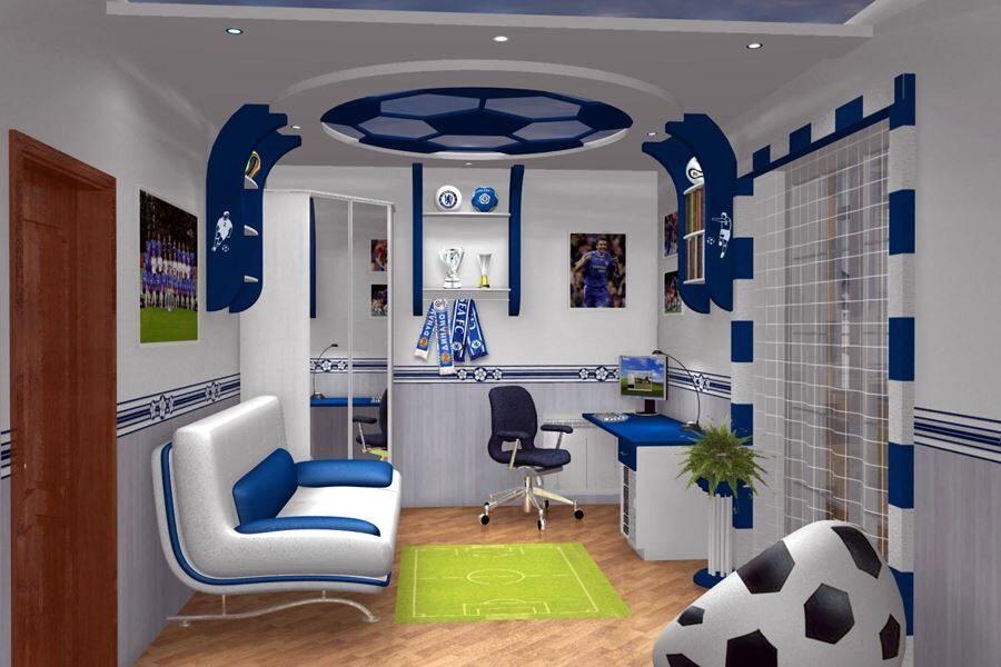Birbirinden İlginç Özel Tasarım Genç Odaları