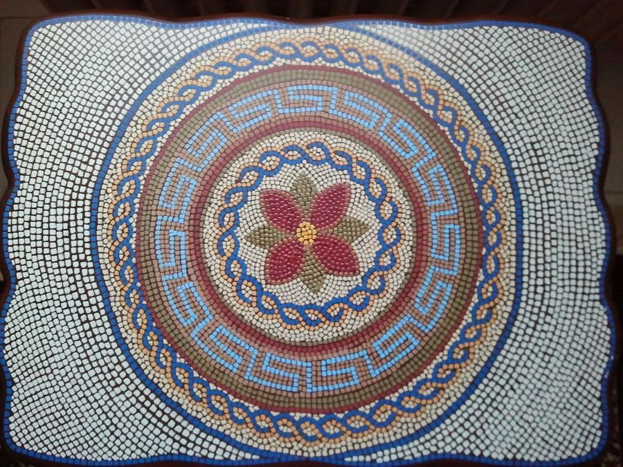 Mozaik sehpa modelleri 1