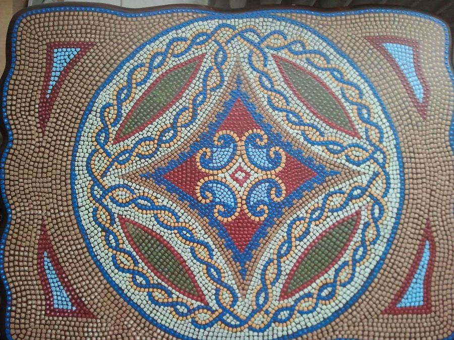Mozaik sehpa modelleri 2