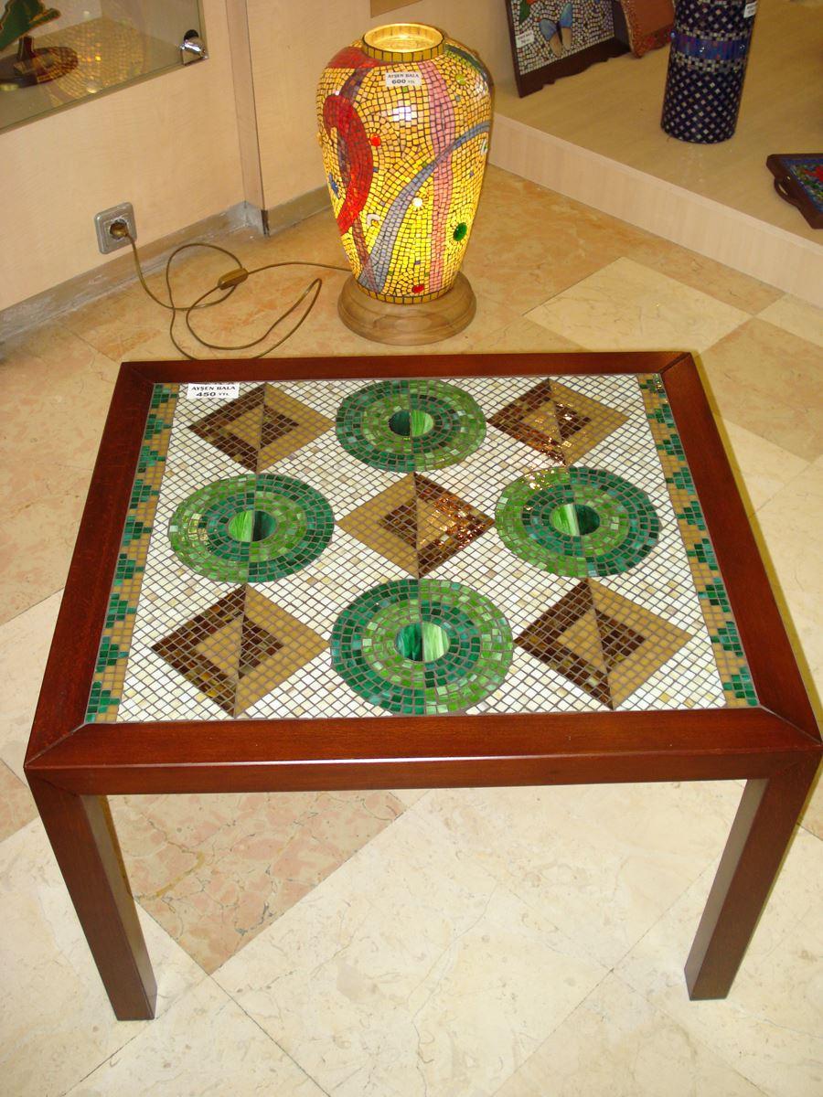 Mozaik sehpa modelleri
