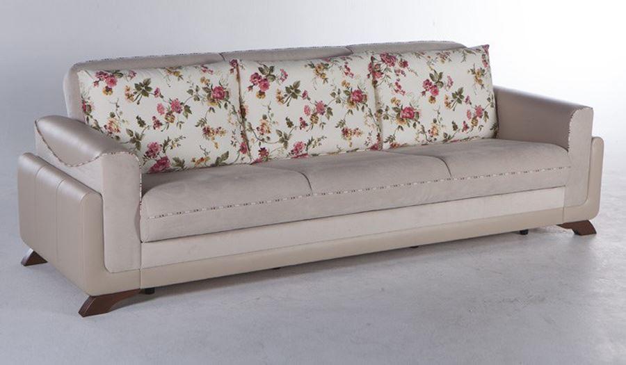 Valdes çiçek desenli kanepe