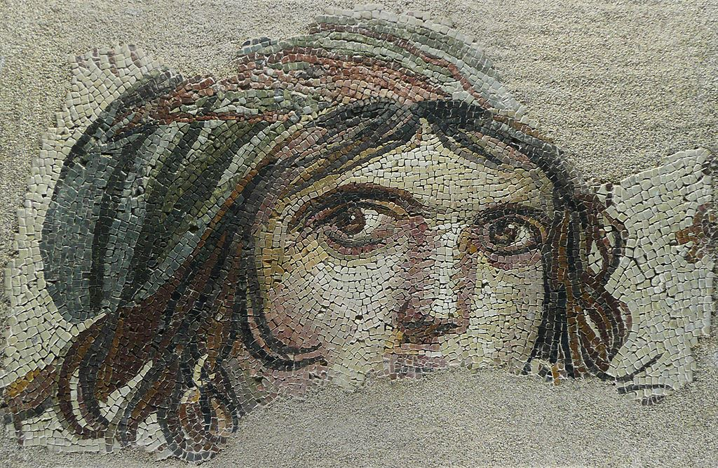 Zeugma Çingene Kız Mozaik