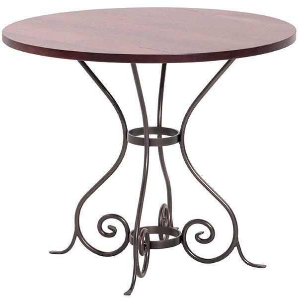 Wrought Iron Round Table