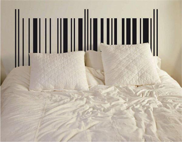 Yatak başlığı duvar kağıdı Barkod