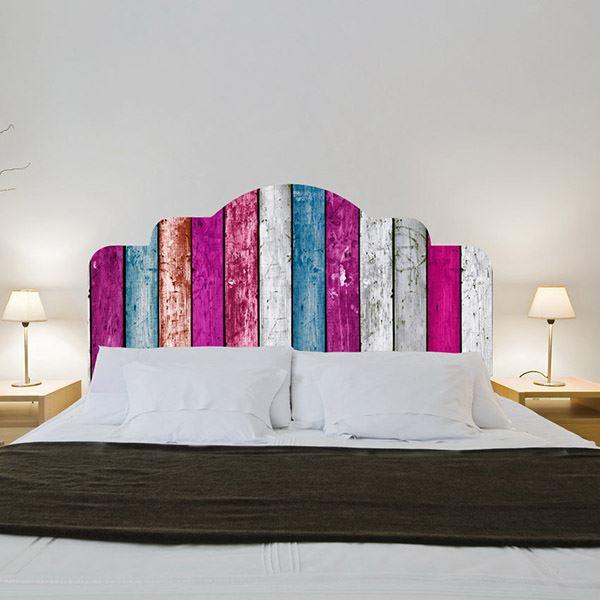 Yatak başlığı duvar kağıdı Palet