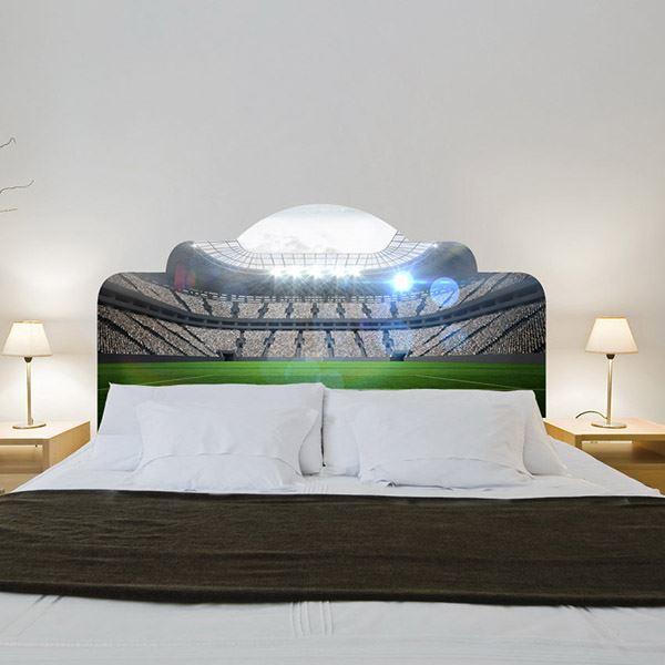 Yatak başlığı duvar kağıdı Stadyum