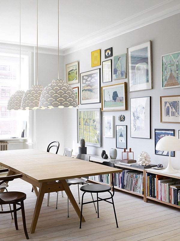 Modern Dining Room Decoration Wall Gallery