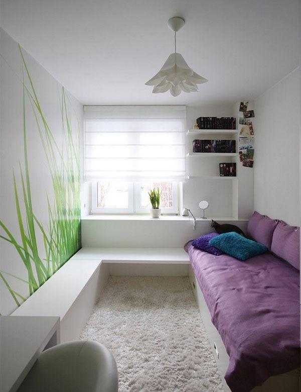 K k dar odalar i in kullan l gen odas dekorasyonu dekoloji ev dekorasyon fikirleri blogu for Petite chambre design
