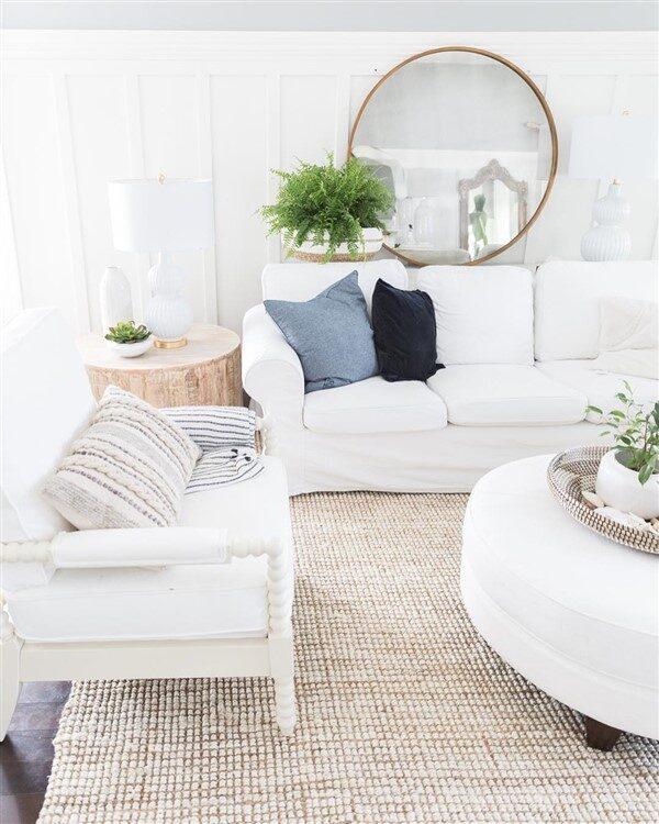 Evinizin Her Yeri için Beyaz Ev Dekorasyonu Mümkün