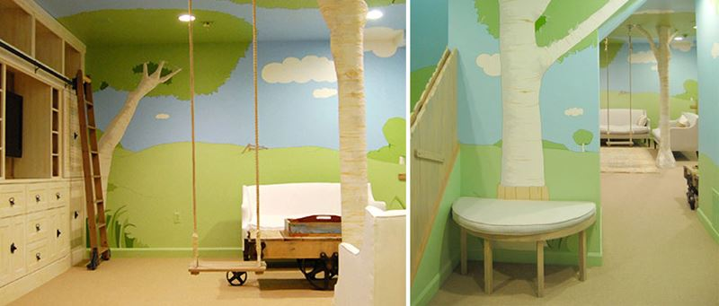 Tree House Kids Room Decoration