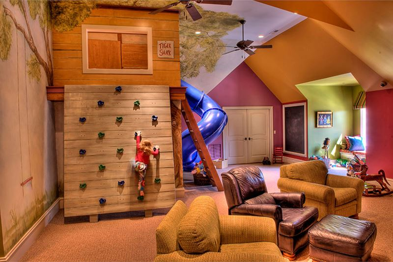 Ağaç ev macerası çocuk odası