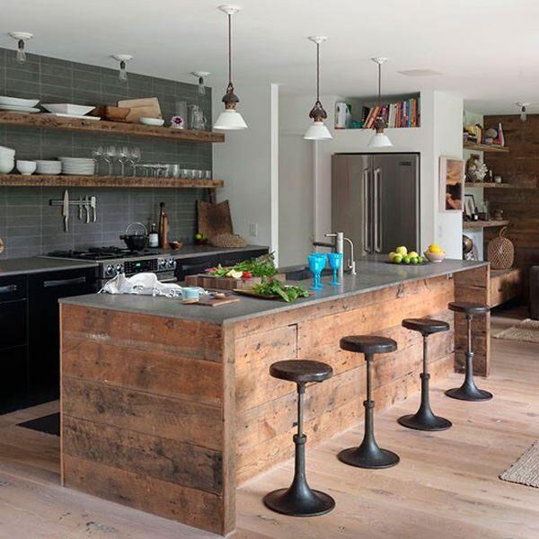 Amerikan Mutfak Modelleri İle Daha Ferah Mutfaklar