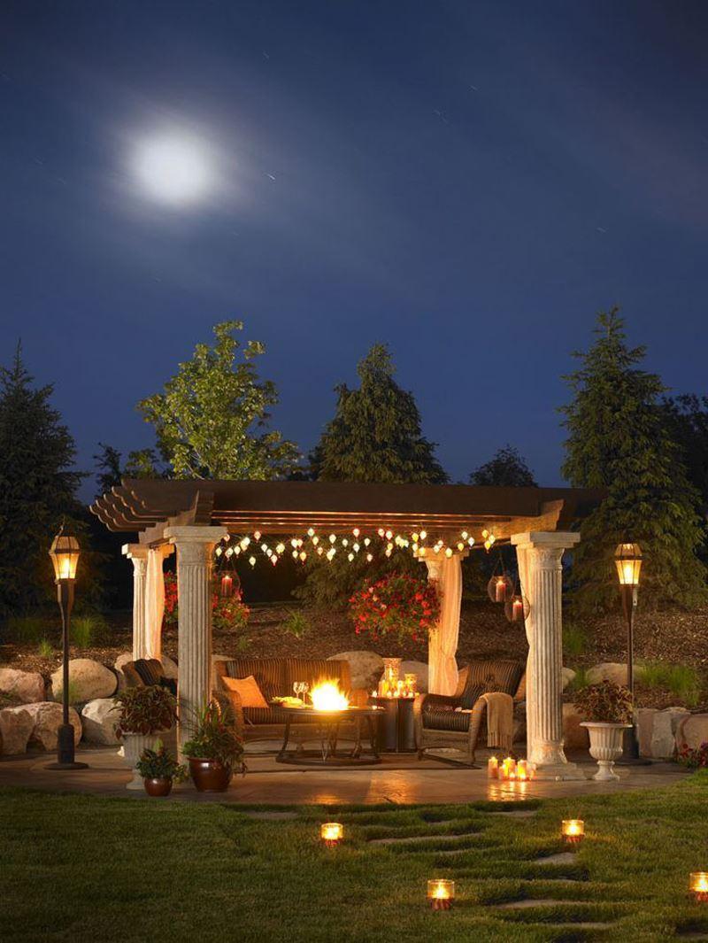 Romantik veranda