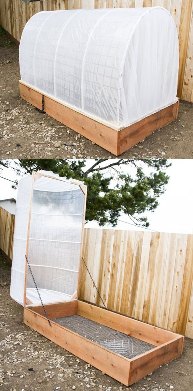 Bahçe için basit sera