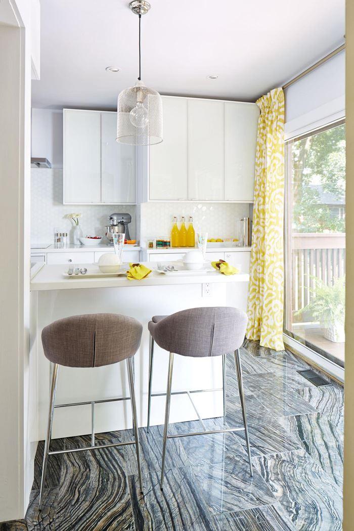 Beyaz Küçük Mutfak
