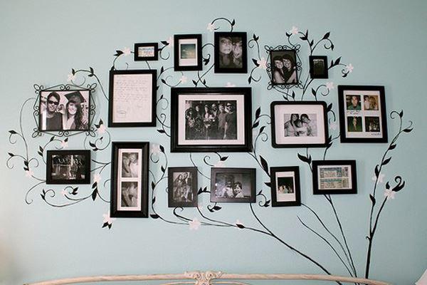 Duvar dekorasyonu resim albümü