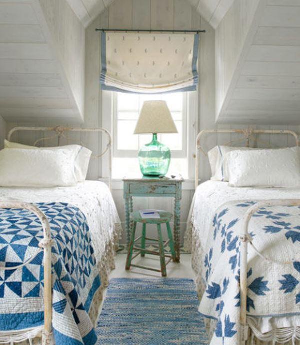Eski ferforje yatak çocuk odası