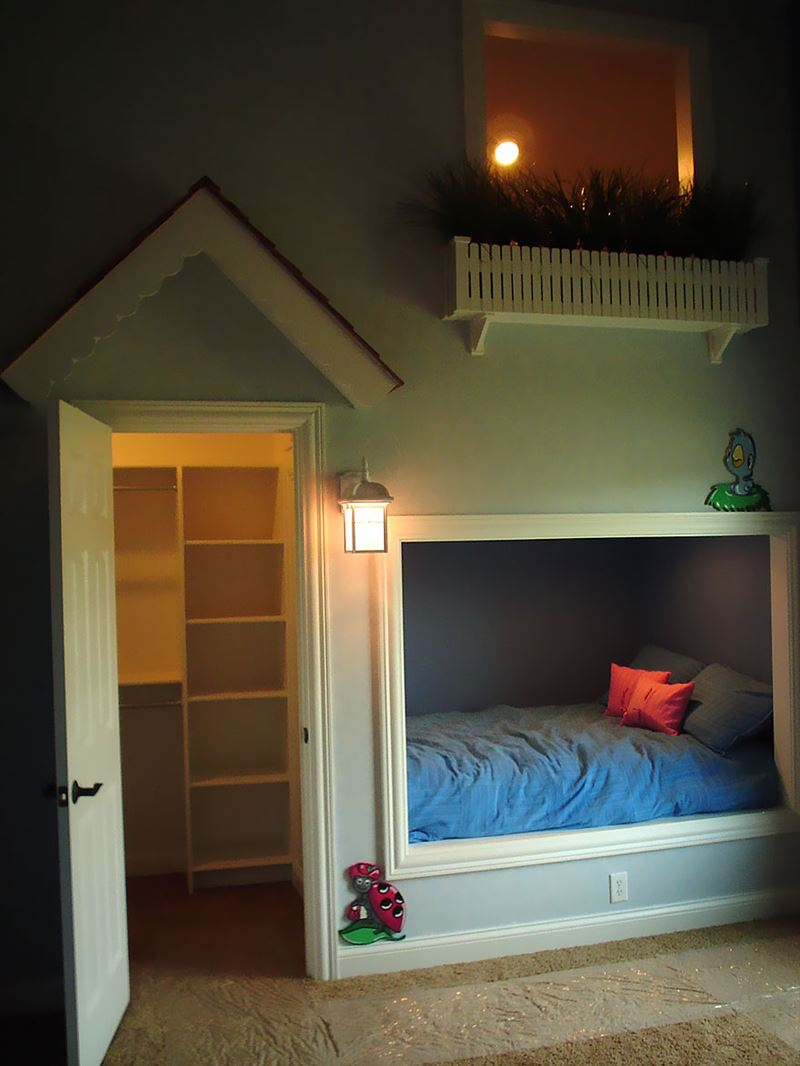 House in home Children's room