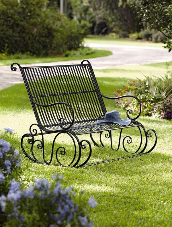 Ferforje Bahçe Mobilyaları Daha Dayanıklı ve Modern