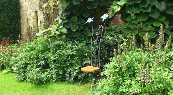 Ferforje bahçe sandalye