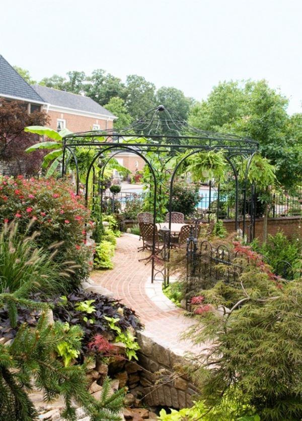 Ferforje bahçe veranda