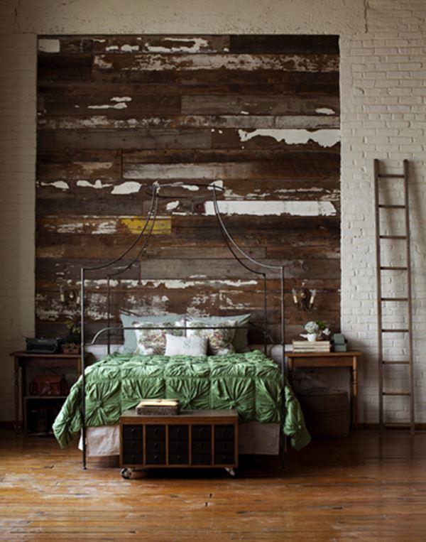 Ferforje bohem yatak odası