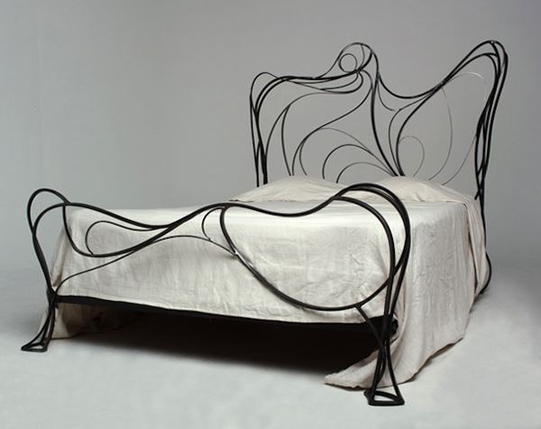 Ferforje modern yatak