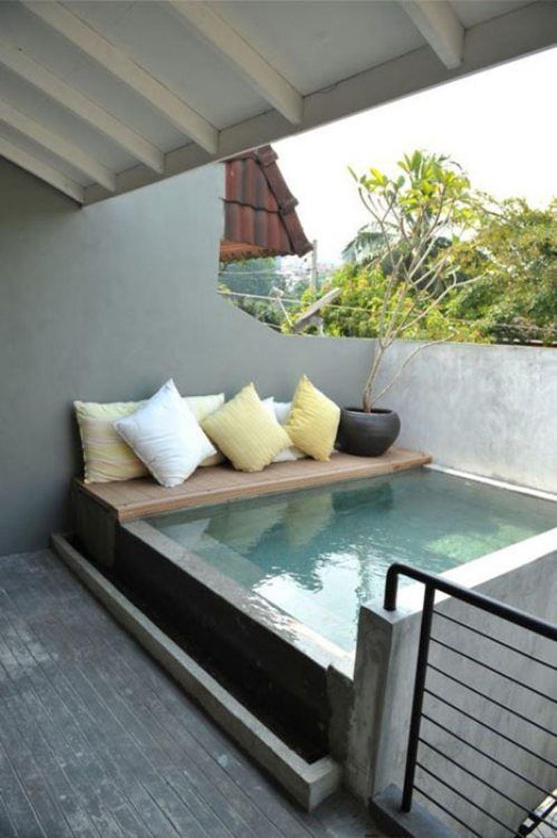 Havuzlu teras