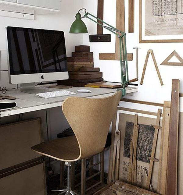 Mimarlar için çalışma odası dekorasyonu