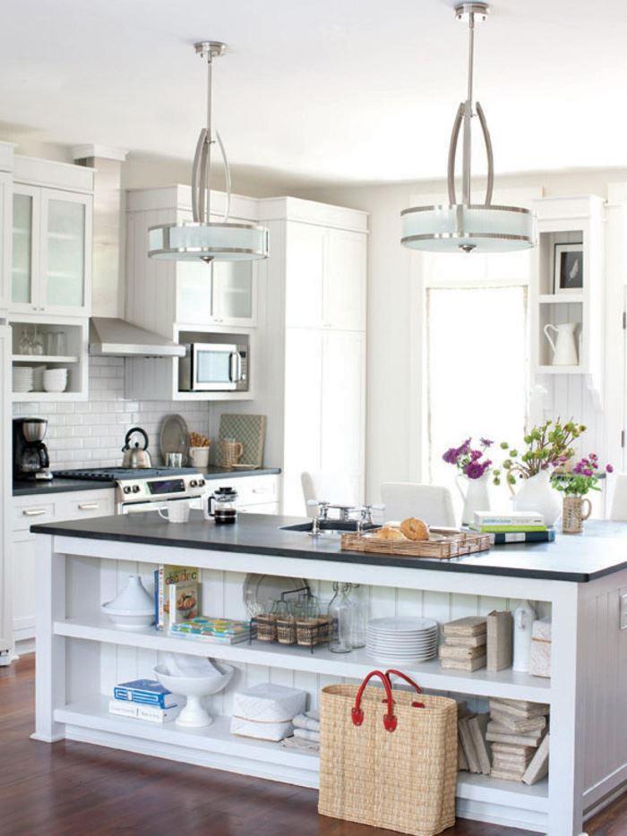 Modern Beyaz Mutfak Modelleri
