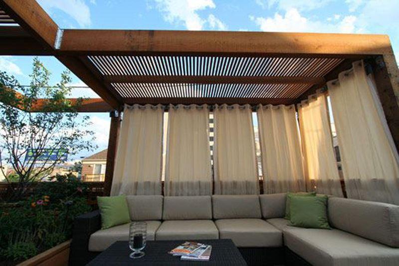 Bah eniz in veranda dekorasyonu modelleri dekoloji ev dekorasyon fikirleri blogu - Pergolas minimalistas ...