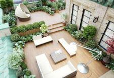Modern teras
