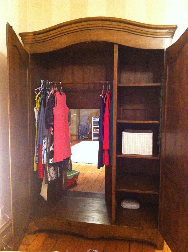 Narnia günlükleri gizli çocuk odası dekorasyonu