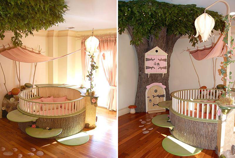 Peri masalı çocuk odası