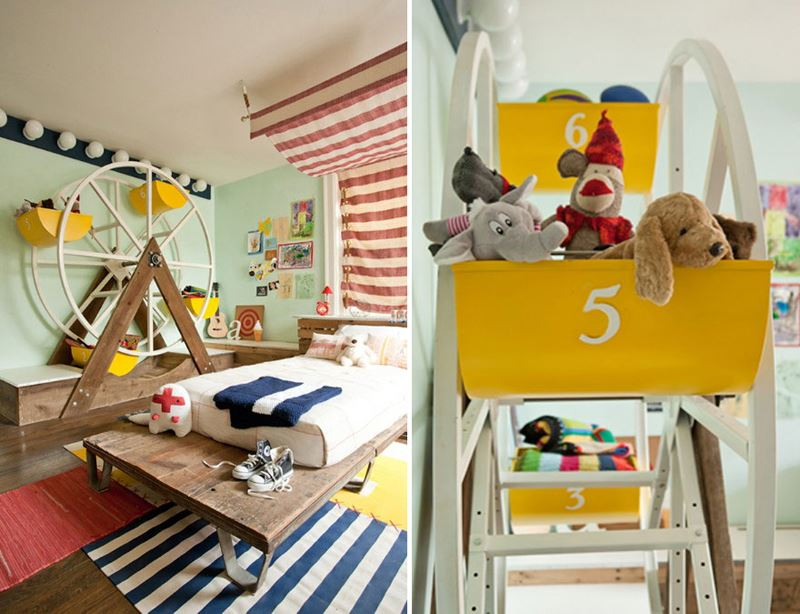 Circus themed children's room