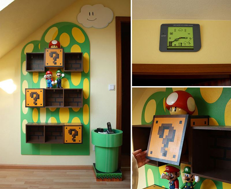 Super Mario Children's Room