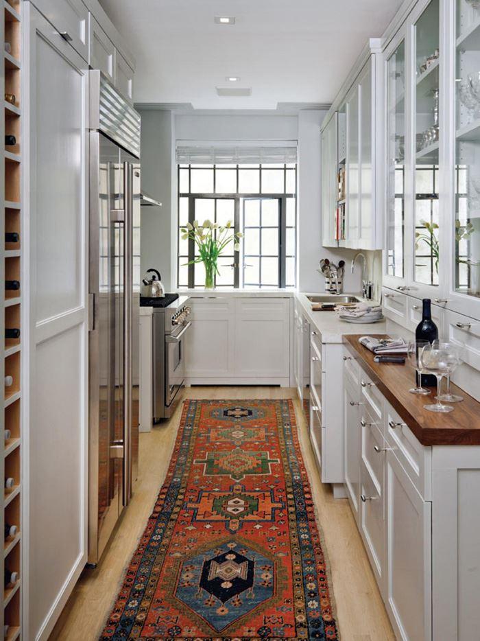 Uzun Beyaz Mutfak
